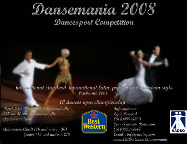 dance Ontario association amateur